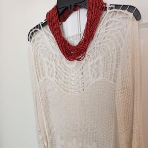 Tops - Hand crocheted top